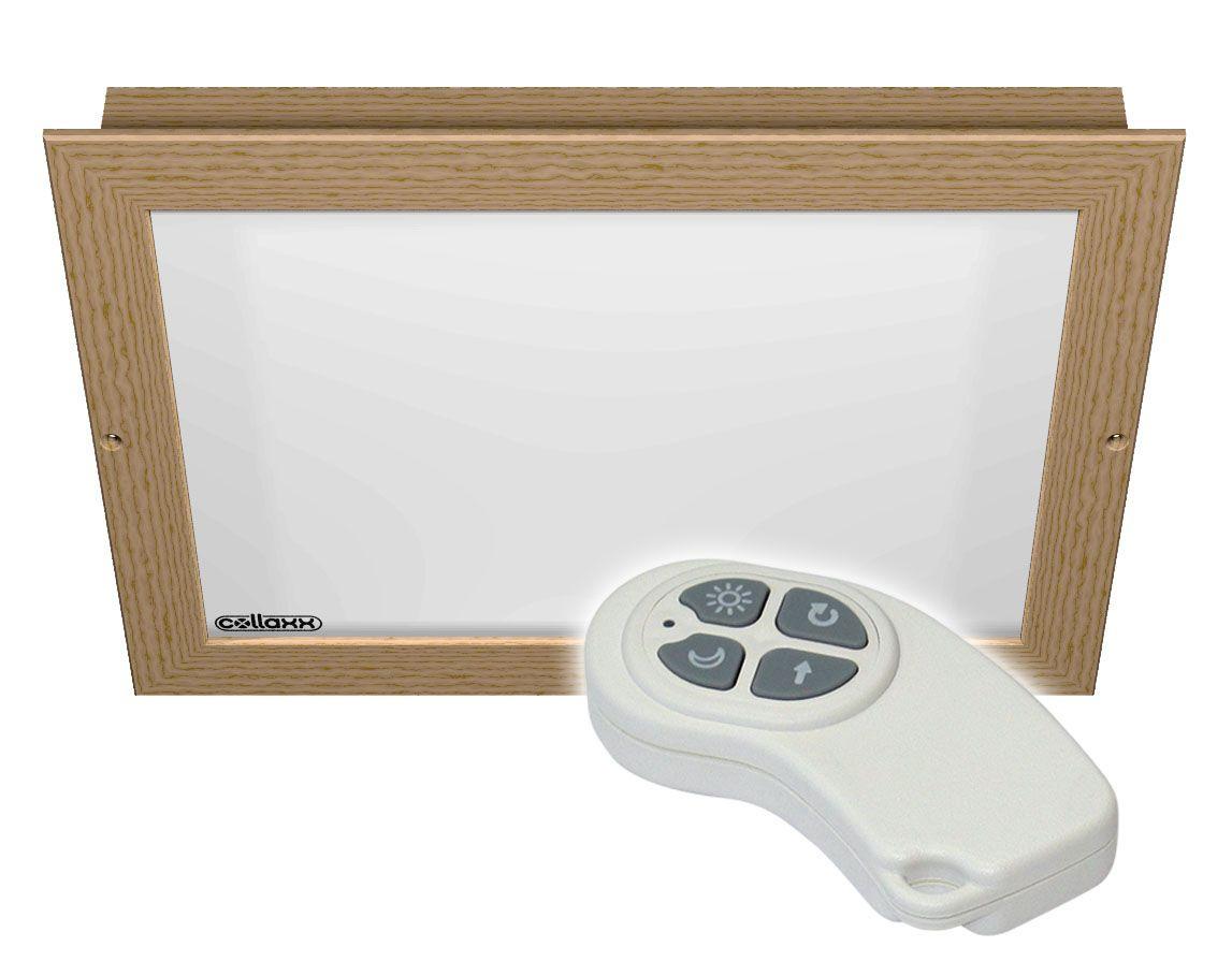 Collaxx kleurentherapie tbv saunacabines tot 6m2 / model Flush L (inbouw)