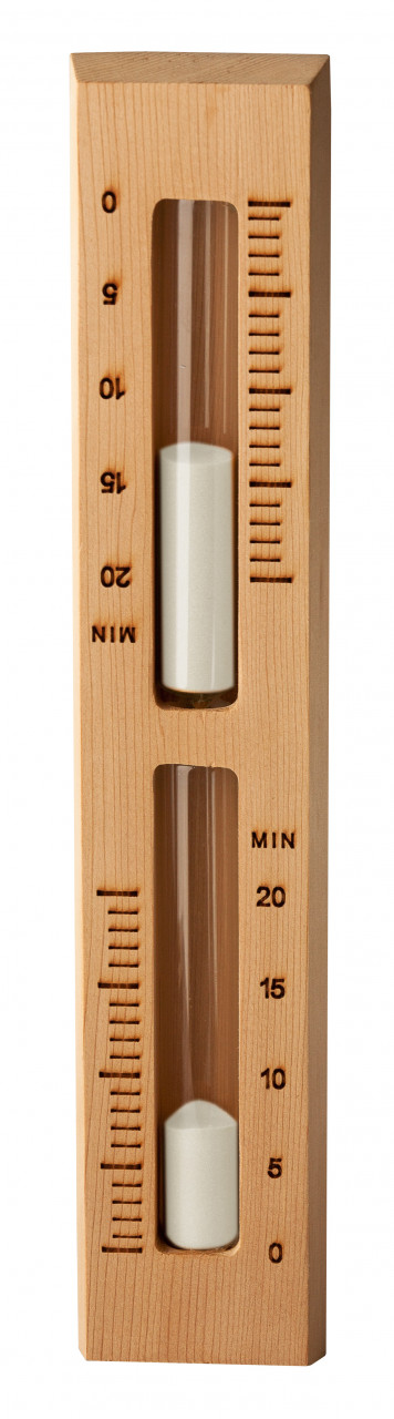 Sawo WHITE SAND zandloper - in verschillende houtsoorten