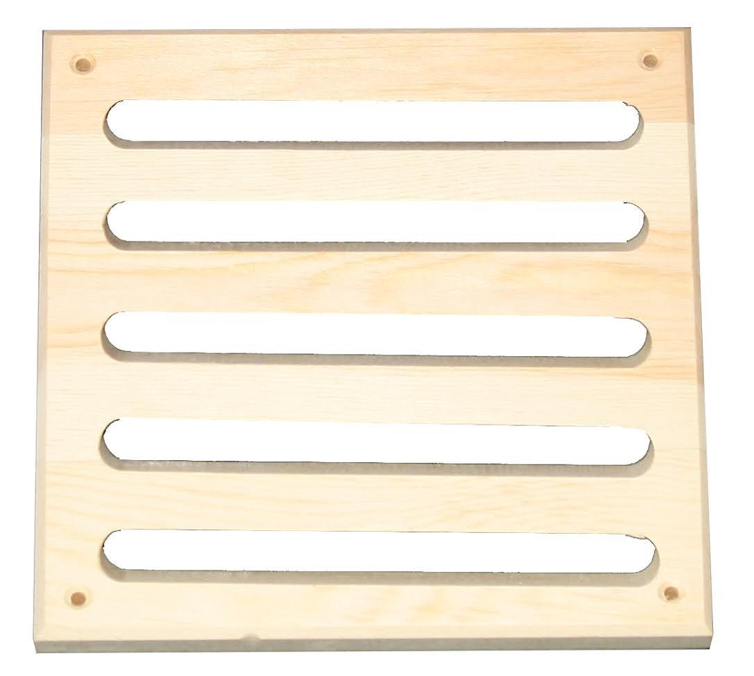 Beluchtingsrooster - in diverse houtsoorten