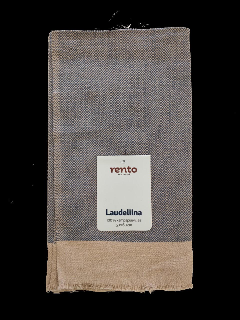 Rento handdoek blauw 50x60 cm