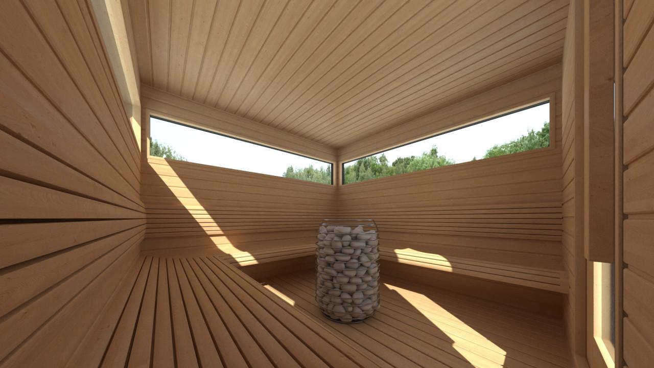 Huum HIVE saunaoven - staand model