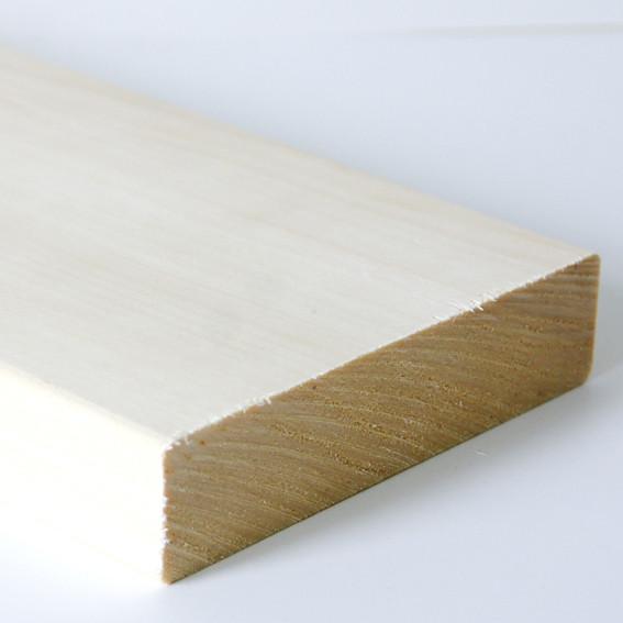 Banklat Espen 120x28mm - diverse lengtes