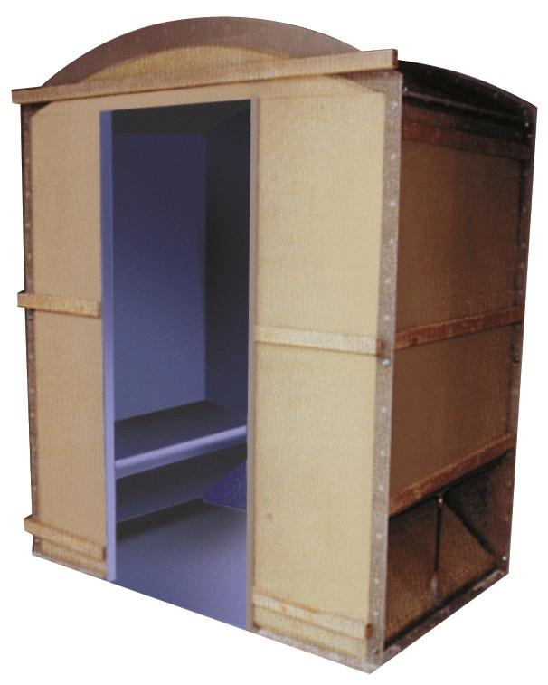 Hollandia STOOMCABINE 172x162 cm - 4-6-personen - wit