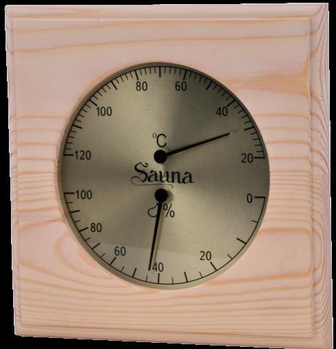Sawo Basic Thermo-hygrometer vierkant