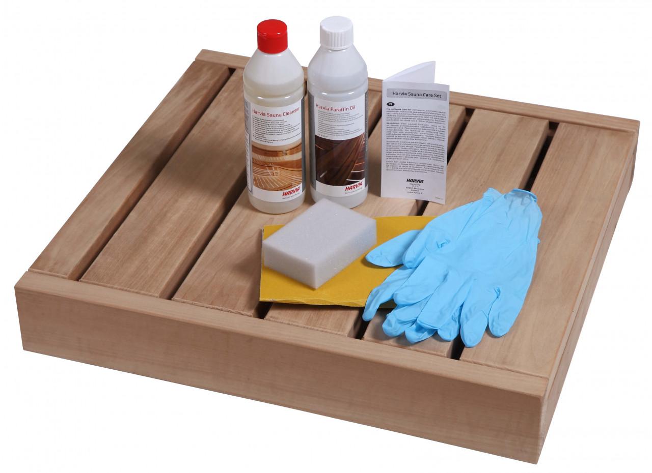 Sauna schoonmaak- en verzorgingsset