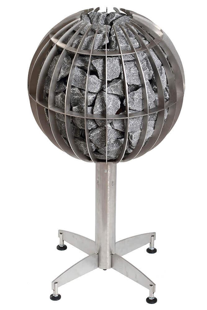 Harvia Globe met geïntegreerde besturing