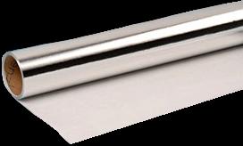Dampscherm Aluminium gecacheerd