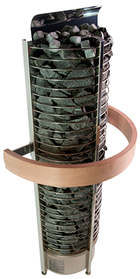 Sawotec Towerheater wand saunaoven met geïntegreerde besturing