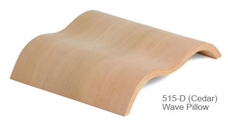 Sawo WAVEPLY hoofdsteun, diverse houtsoorten