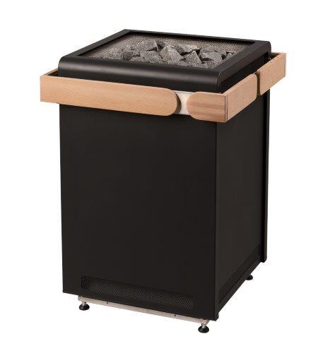 Sentiotec Concept-R saunaoven - zwart