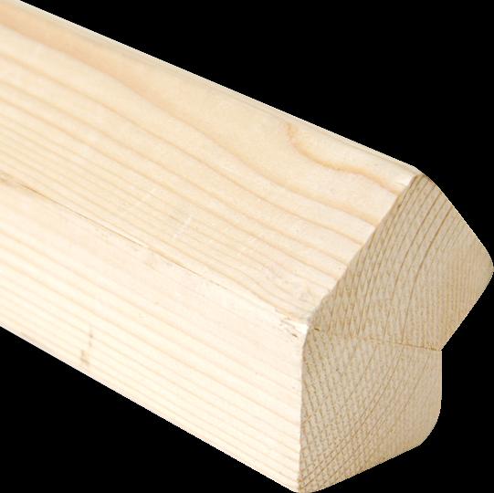Hoekstaander Nordisch Fichte tbv 45° plaatsing deur/wand
