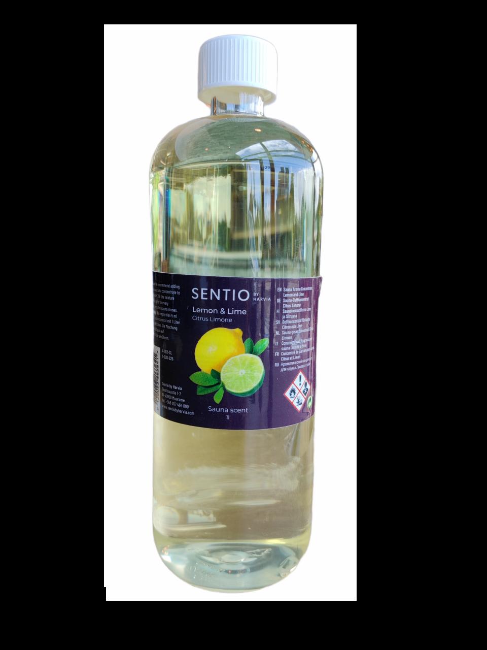 Sentiotec saunageur 1 liter - verschillende geuren