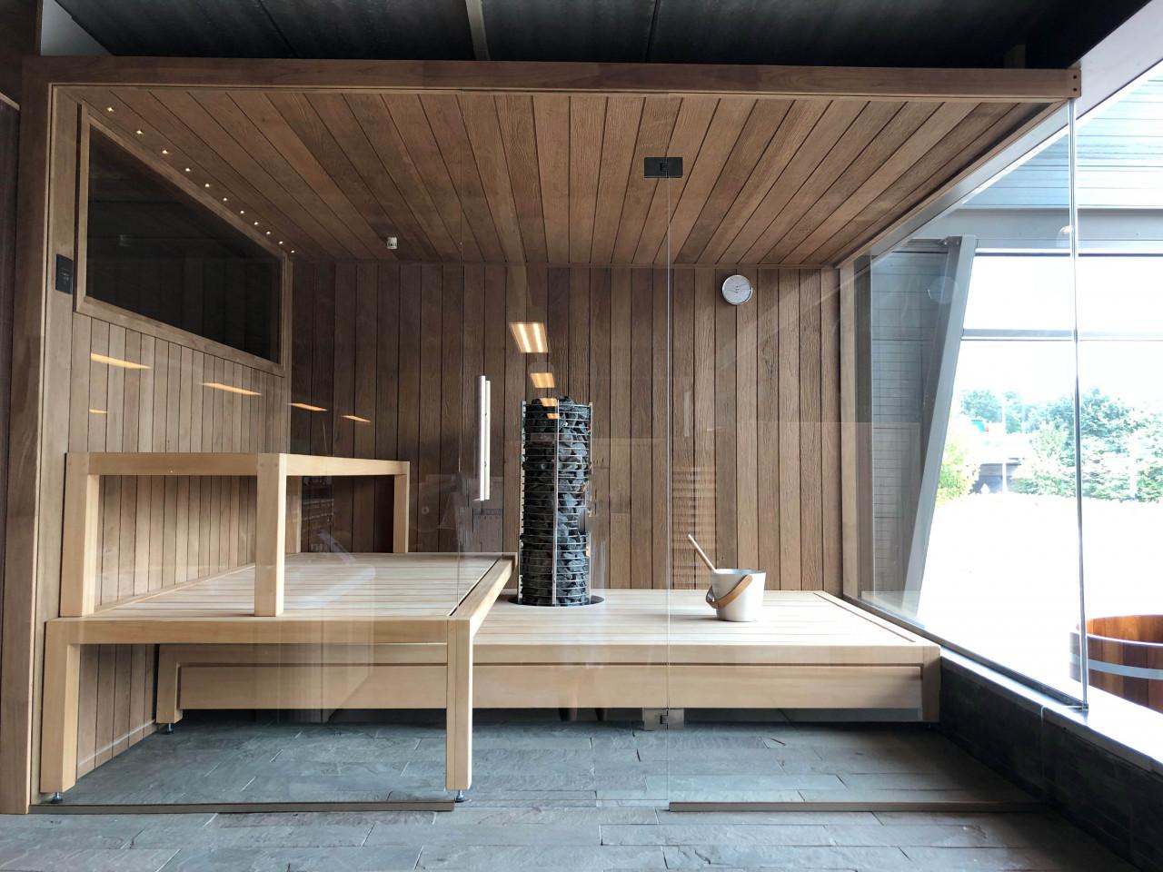 Showroom: sauna interieur