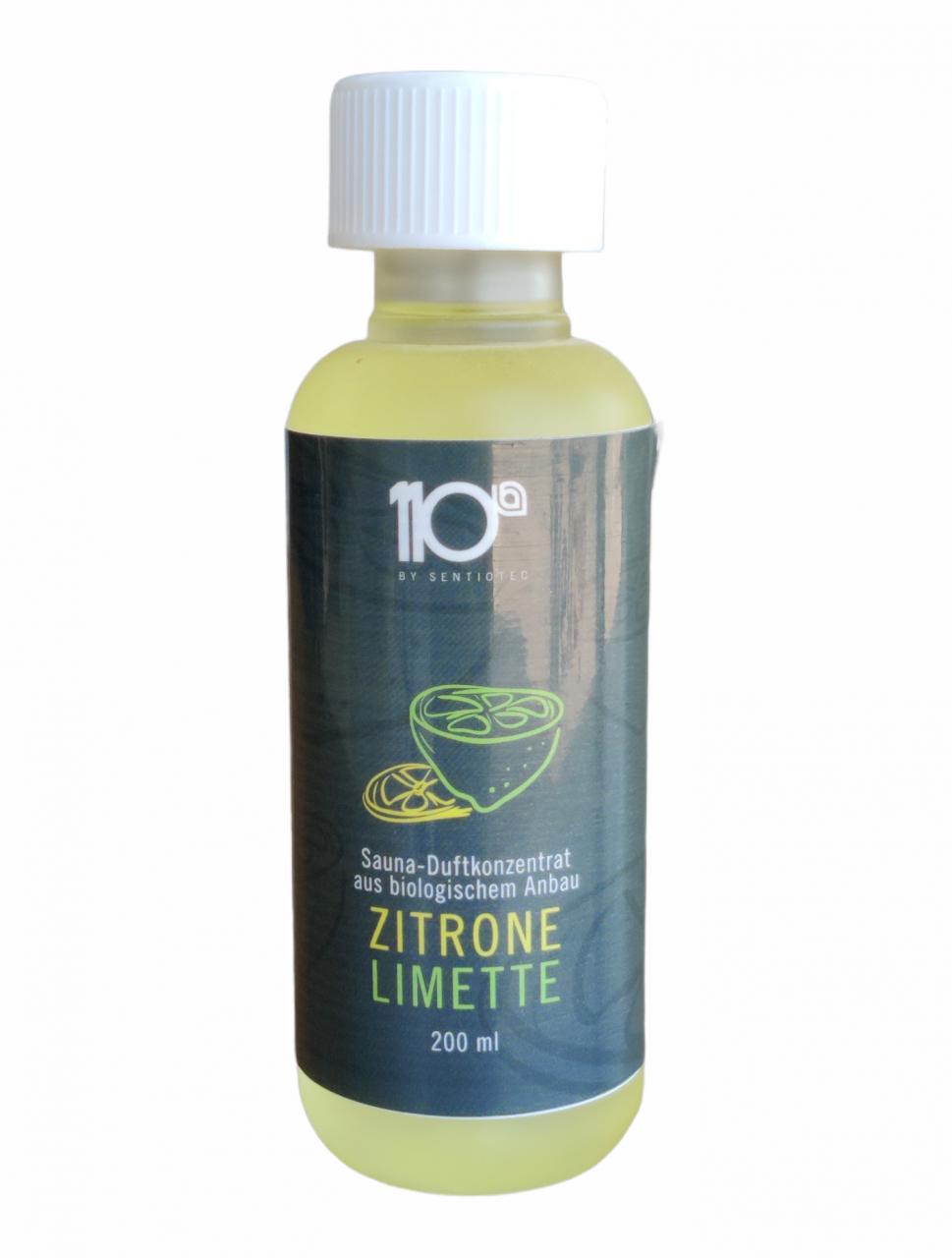 Sentiotec 110° sauna-stoom geurconcentraat 200 ml Citroen-Limoen