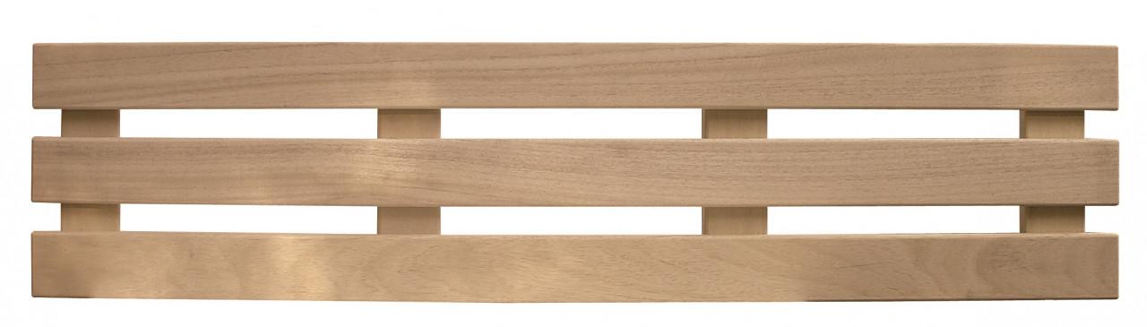 Maatwerk 3-lats rugleuning - abachi - in elke gewenste lengte