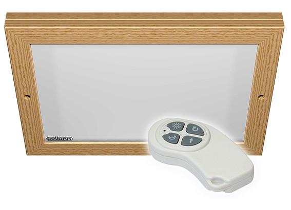 Collaxx kleurentherapie tbv saunacabines tot 6m2 / model Square L (opbouw)