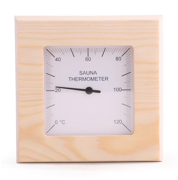 Sawo SQUARE thermometer - in verschillende houtsoorten