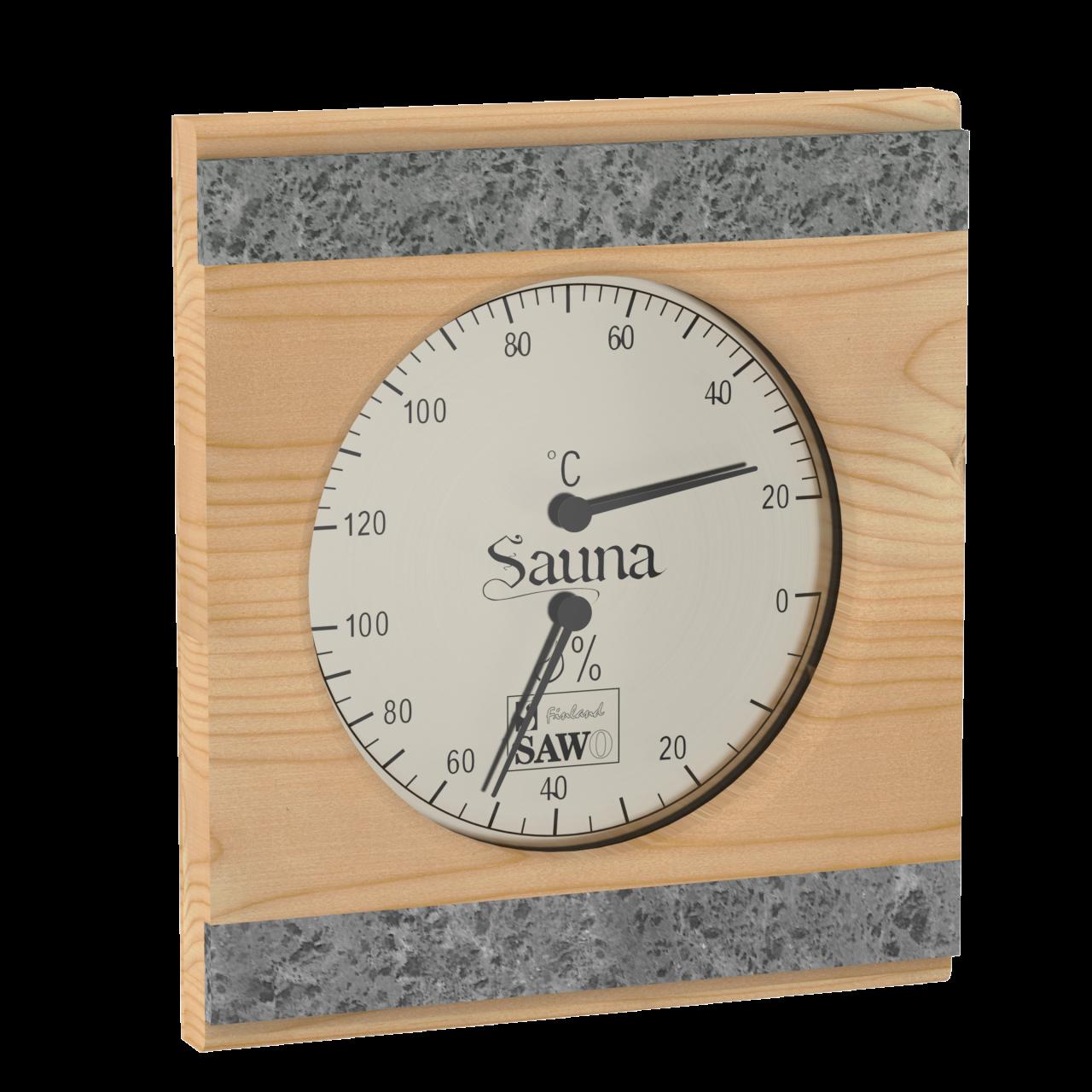 Thermo-hygrometer speksteen