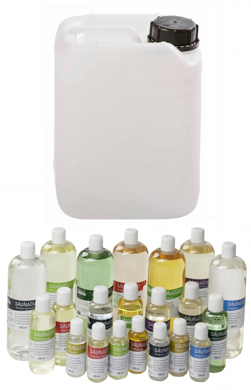 Sentiotec SAUNAGEUR grootverpakking 10 liter - in 14 verschillende geuren