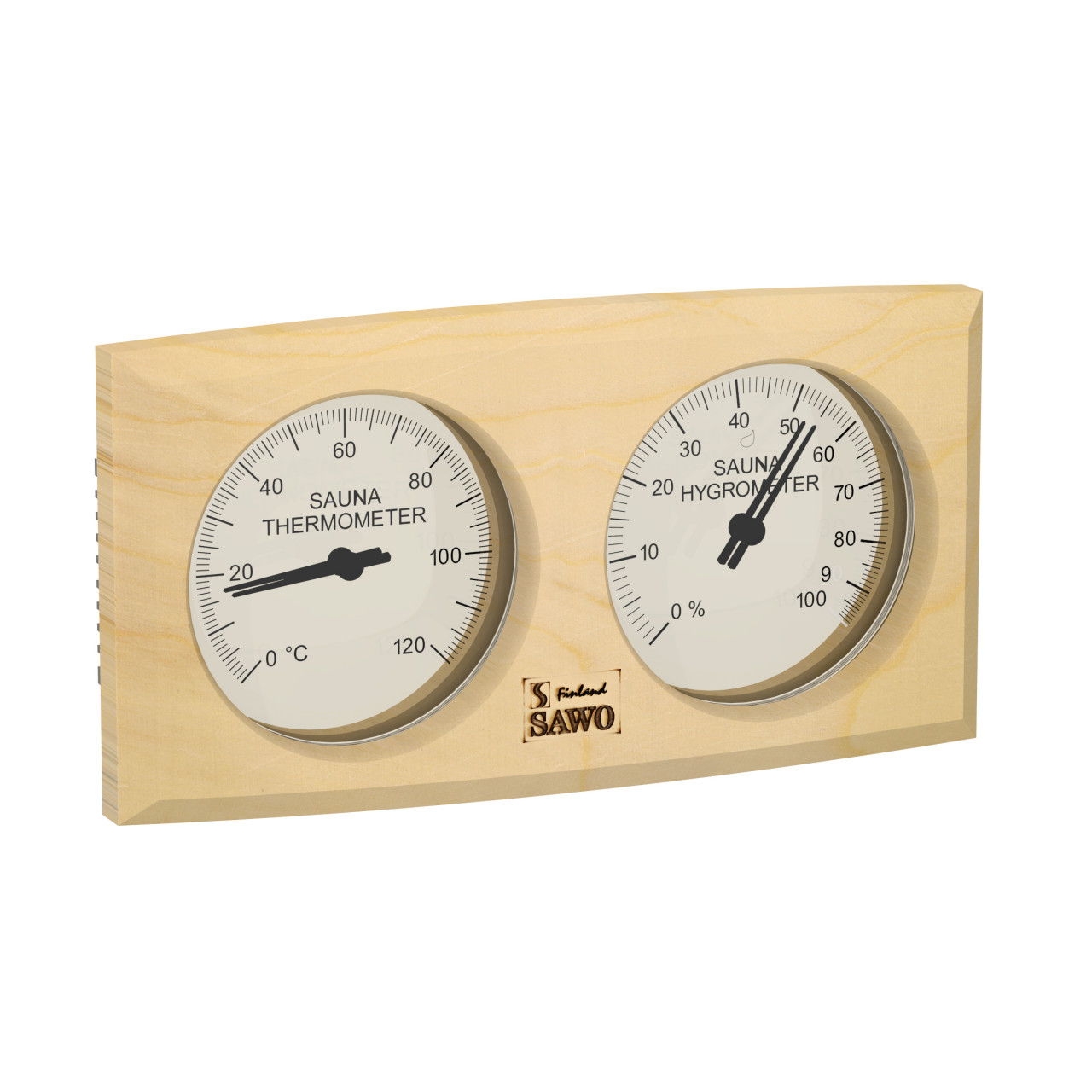 Sawo OVAL thermo-hygrometer