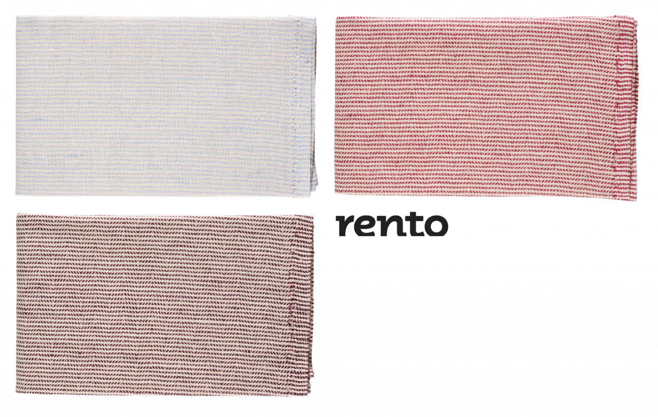 Rento ZITDOEK LINE 50x60cm - streepmotief - linnen